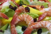 Tiger Prawn Salad with Mango and Avocado