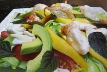 Freshly Cooked Crayfish Salad