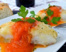 Atlantic Cod with Fresh Tomato