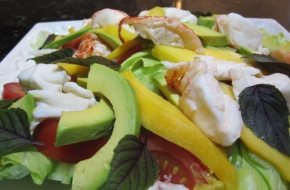 fresh-cooked-crayfish-salad